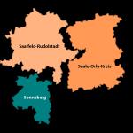 Wahlkreis 196 Sonneberg Saalfeld-Rudolstadt Saale-Orla-Kreis