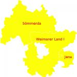 Bundestagswahlkreis Jena Sömmerda Weimarer Land