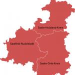 Bundestagswahlkreis Saalfeld-Rudolstadt Saale-Holzland-Kreis Saale-Orla-Kreis