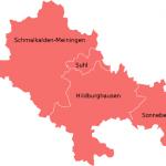 Bundestagswahlkreis Suhl Schmalkalden-Meiningen-Hildburghausen Sonneberg